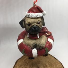 Mopshondje | Voor in de kerstboom