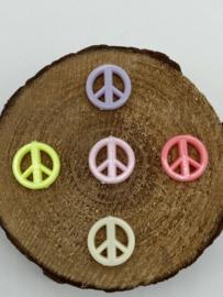 Acryl Kralen | Peace Tekens