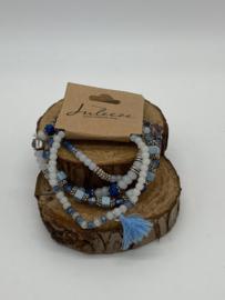 Armbanden Set   Blauw