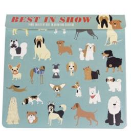 Stickers | Best in show ( 3 velletjes)