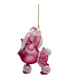 Roze Kerst Poedel