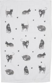 Gastendoekje/Handdoekje | Katten