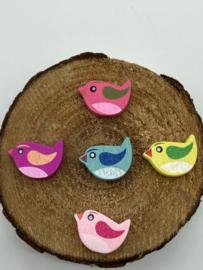 Houten Kralen | Vogeltjes