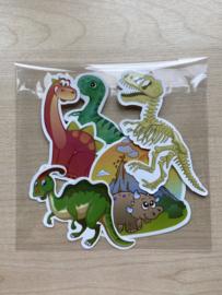Uitdeelcadeautjes   Dino Stickersetje