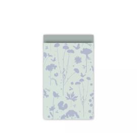 Cadeauzakje | Grow Mint/Blauw/Salie | 12x19 cm