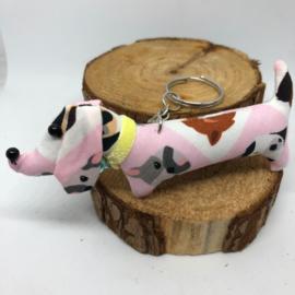 Teckelsleutelhanger | Hondjes