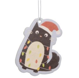 Voor in de auto | Luchtverfrisser Feline met Kerstlampjes
