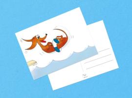 Teckelkaart | Wally heeft vakantie!
