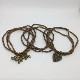 Setje armbanden Brons