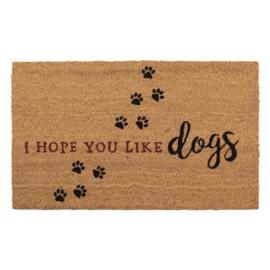 Deurmat | I Hope You Like Dogs
