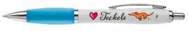 Pen | Love Teckels | Blauw