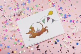 Teckelkaart | Wally en de Slingers