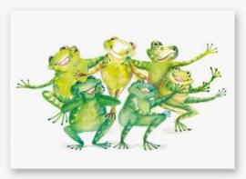Kaart | Funny Frogs
