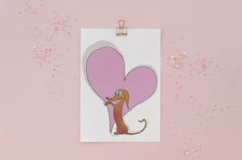 Teckelkaart | Liefde