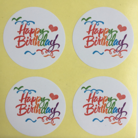 Stickervel | Happy Birthday 2