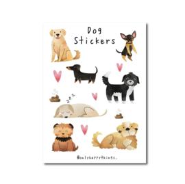 Stickervel | Honden