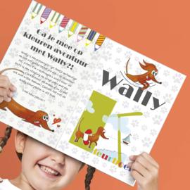 Kleurboek   Wally de Teckel