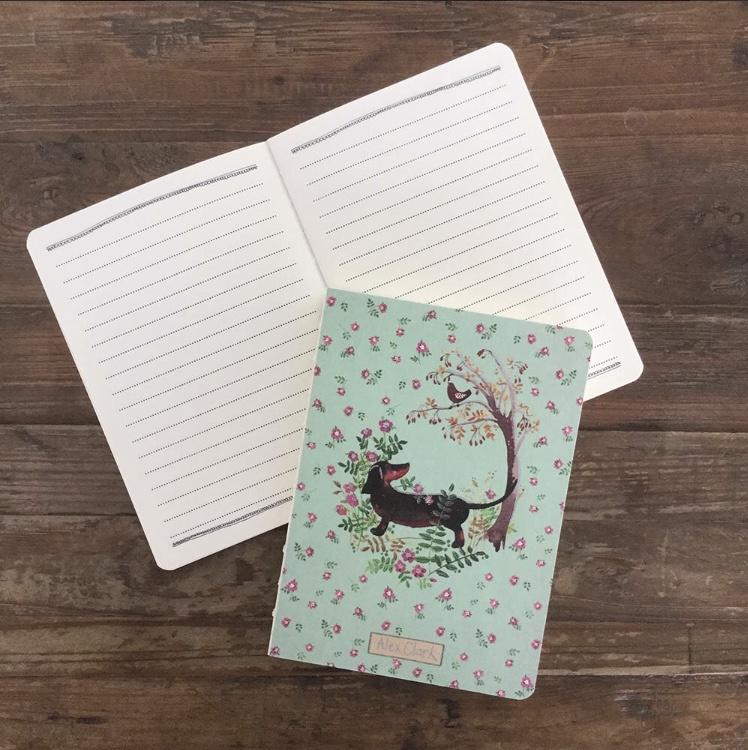 Notebook | Black and Tan Teckel