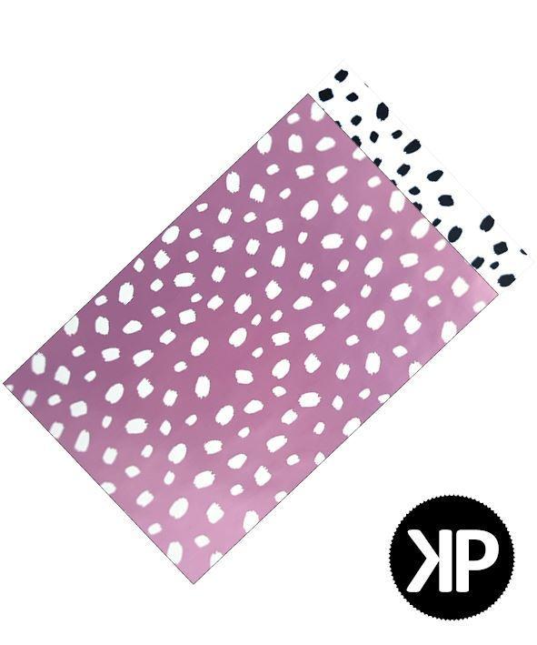 Cadeauzakje | Lila Dots | 12x19 cm