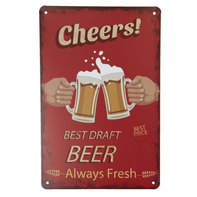 Tekstbord Cheers!