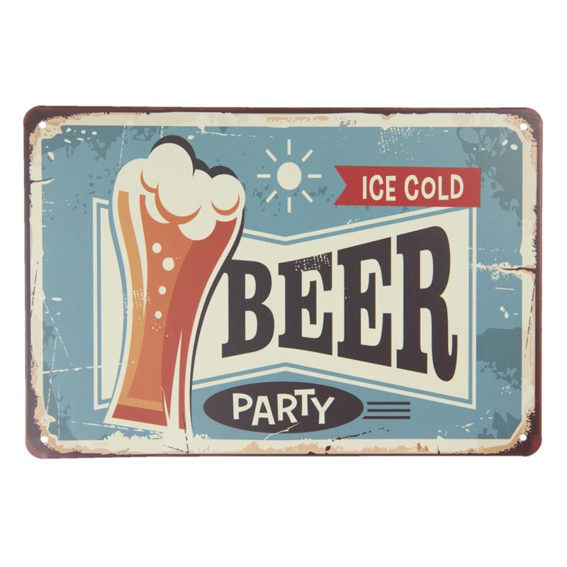 Tekstbord Beer Party
