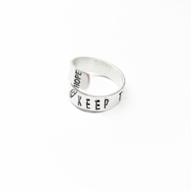 Keep Faith ring TWIST