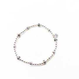 Ozz armband meloen/bloem