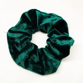 Scrunchie emerald green