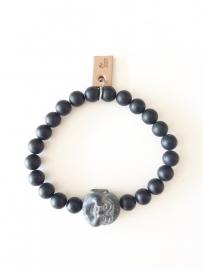 Armband Zwarte Jaspis