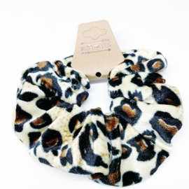 Scrunchie panter grote vlek