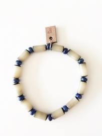 Armband Buri zaden en Lapis Lazuli