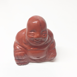 Rode Jaspis Boeddha