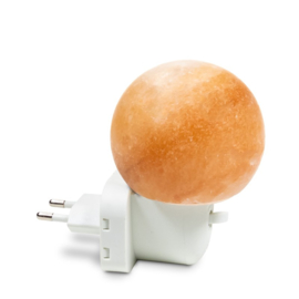 Zoutsteen lamp bol