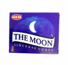 The Moon cones HEM