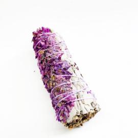 Witte Salie met lavendel