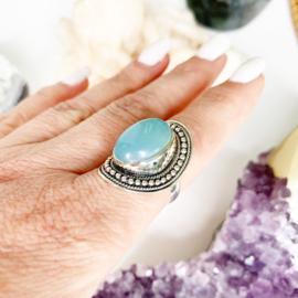 Chalcedoon ring