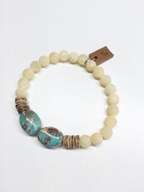 Jaspis/ Jade & kokos