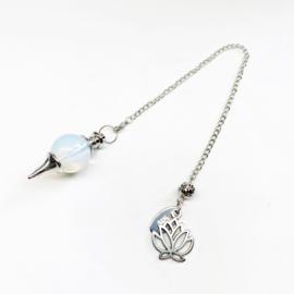 Pendel Opaliet lotus