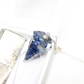 Orgoniet pendel Lapis Lazuli