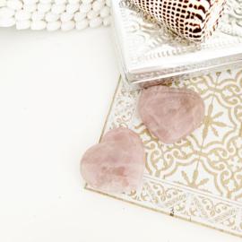 Edelstenen hart Lavendelkwarts