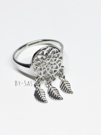 dromenvanger ring zilver