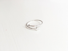 Arrow ring Zilver