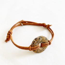 Luipaard Jaspis donut bruin