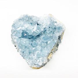 Blauwe celestien hart