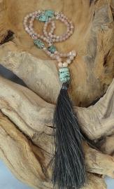 Mala Maansteen, Turkoois, Bergkristal