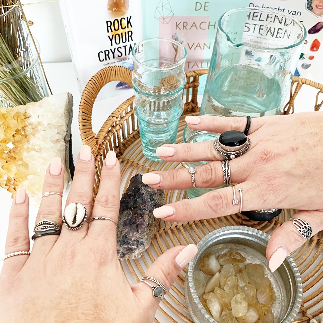 sterling zilveren ringen edelsteen