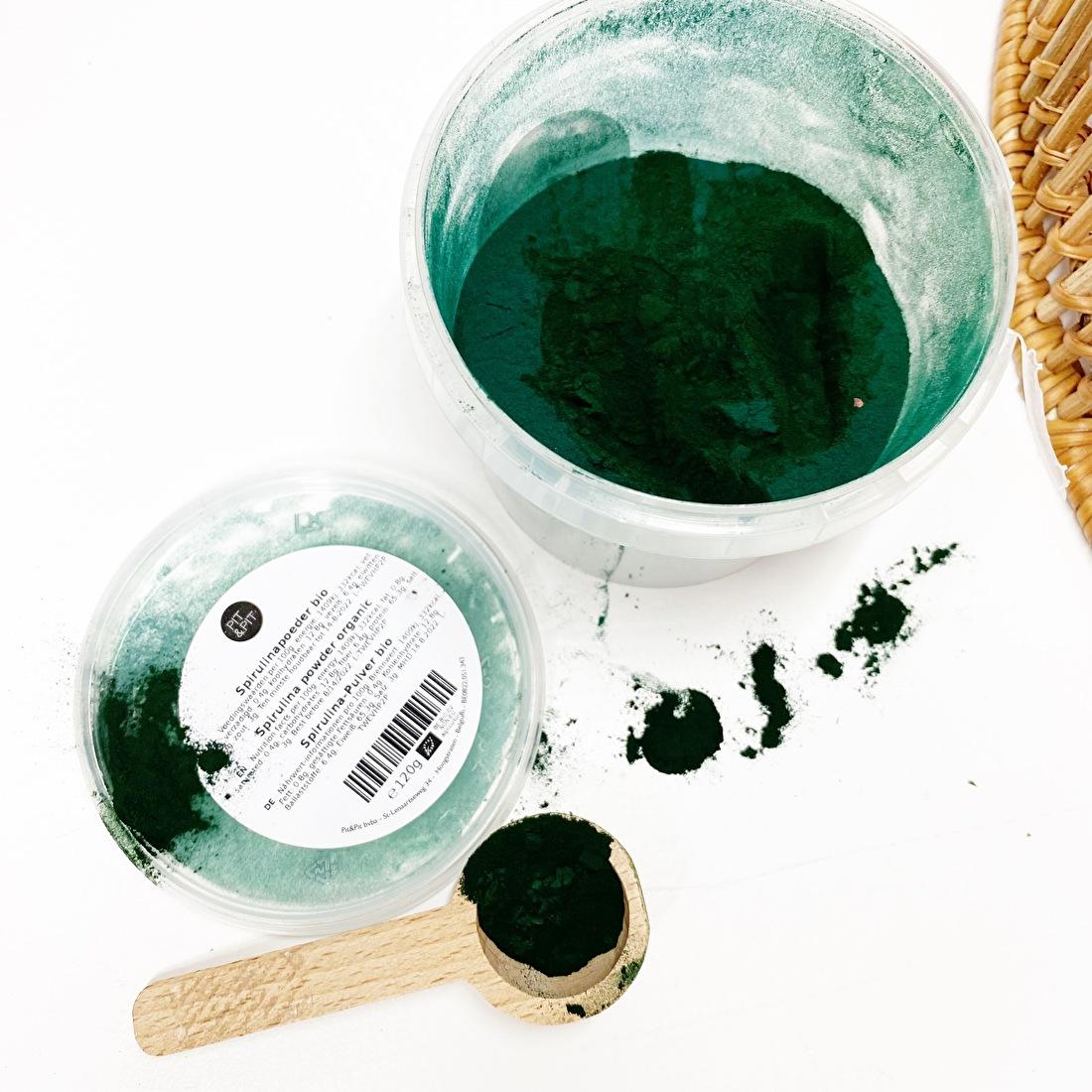 Spirulina alg poeder magie wicca elementen edelstenen maan rituelen by-sas