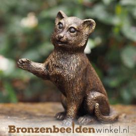 Kattenbeeldje in brons BBW2272br