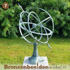 NR 7 | Cadeau man 70 jaar ''Moderne zonnewijzer''BBW0107br