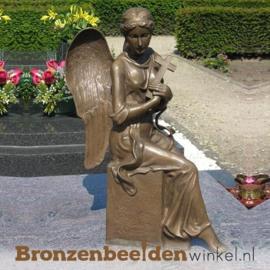 Beeld engel grafsteen BBW1272br